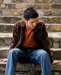 young-man-on-steps